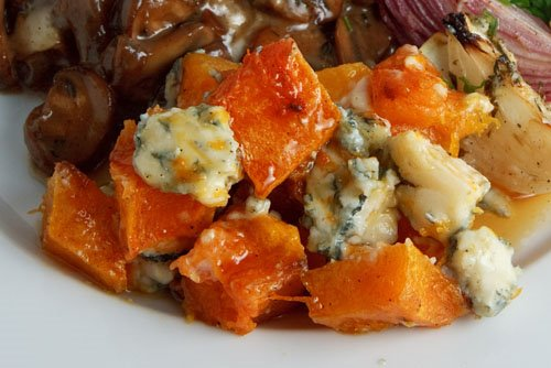 Roasted Squash with Gorgonzola and Maple Syrup on Closet Cooking