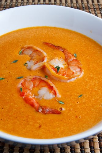 Shrimp Bisque on Closet Cooking