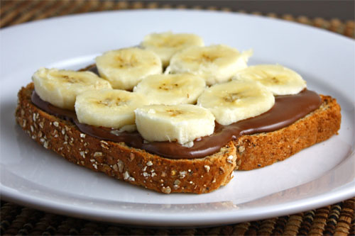 Image result for nutella banana toast