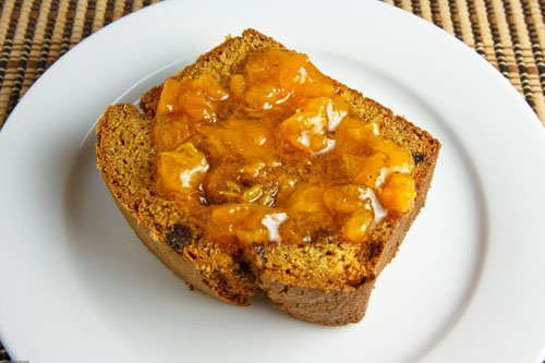 Curried Mango Bread