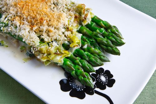 Asparagus in Gorgonzola Sauce