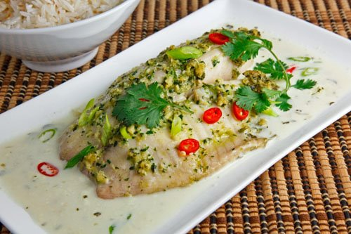 Tom Yum Baked Fish