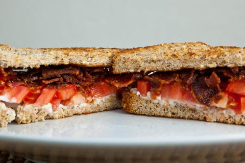 BT (Bacon and Tomato) Sandwich on Closet Cooking