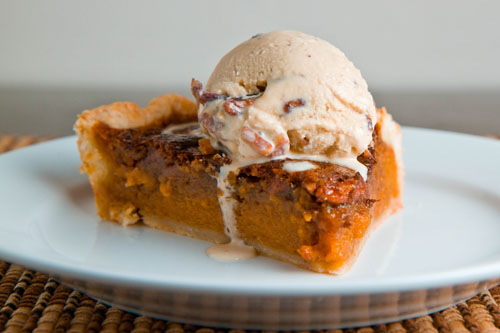 Sweet Potato Pecan Pie
