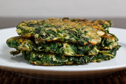 Spinach and Feta Fritters on Closet Cooking