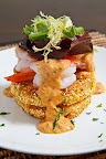 Fried Green Tomatoes with Shrimp Remoulade
