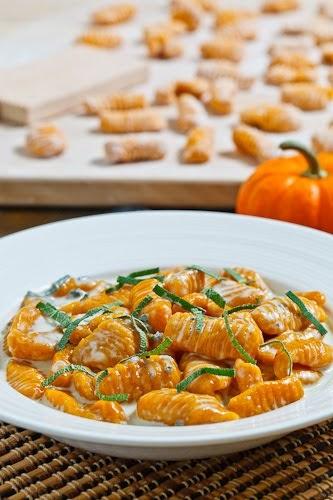 Pumpkin Gnocchi in a Creamy Gorgonzola Sauce | Culinary World In You