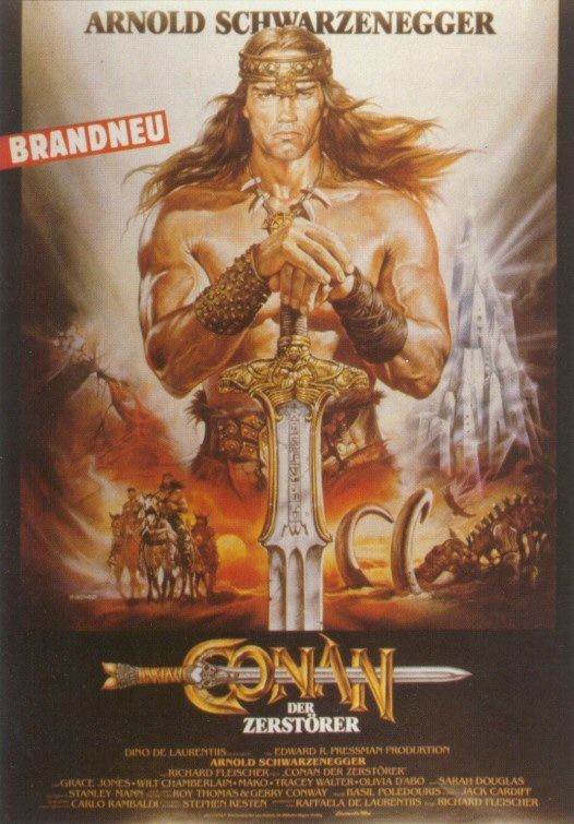 conan the barbarian movie poster. Google. first