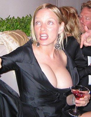 Gail O'Grady -------------------------------------------------. Uma Thurman