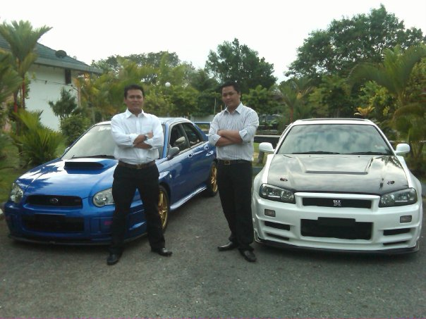 Tahun 2008 : Bersama Star Executive Fariz Norman, salah seorang founder VeMMA Asia