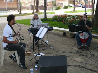 Músicos do Espaço Cultural Barros Junior