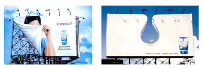 Unconventional billboard