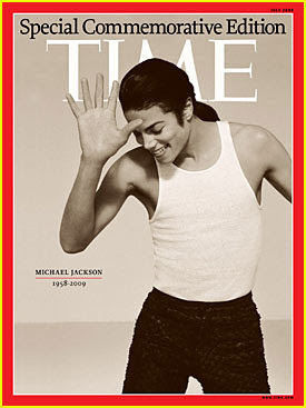 Michael Jackson Time Magazine Cover