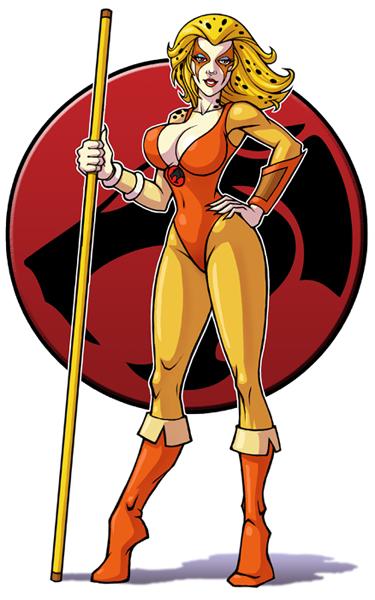 Cheetara (Thundercats). Damn boy, phat pussy! That's all I have to say.