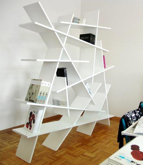 Style By Amilka Futuristic Bookshelves