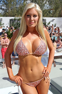 Heidi Montag in Bikini After Surgery