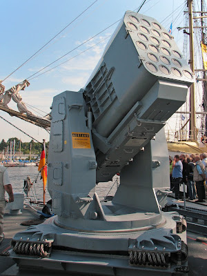 RIM-116 Rolling Airframe Missile Launcher