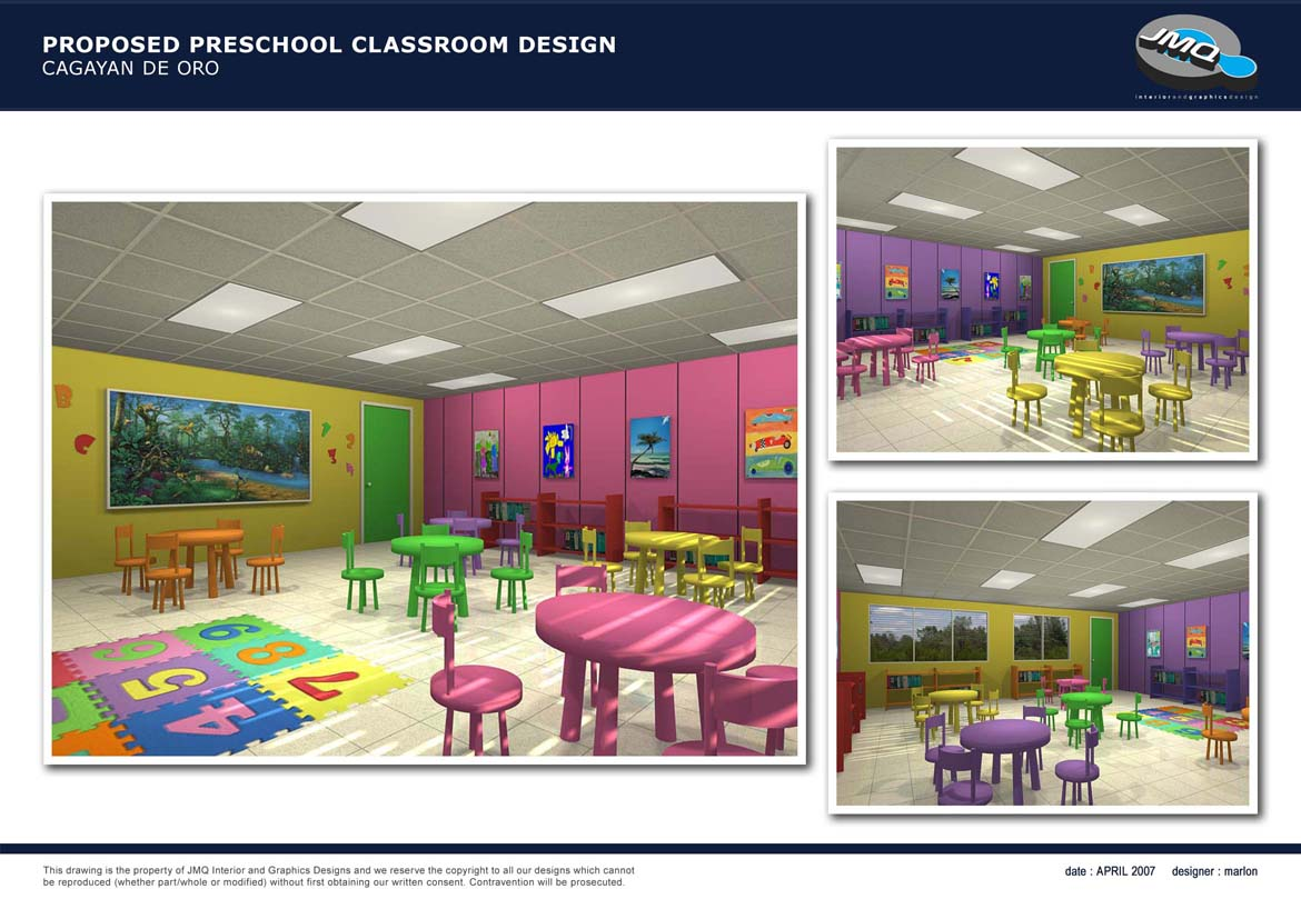 Classroom Design In Preschool ~ Preschool room design interior ideas