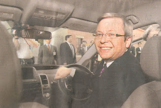 Kevin Rudd in Nagoya June 2008, The Australian