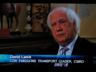 David Lamb, CSIRO Low Emissions Transport Leader, ABC News June 2008