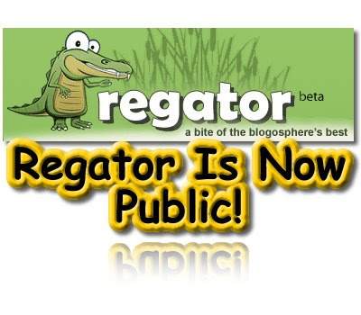 Regator, Public Beta, Blog Aggregator