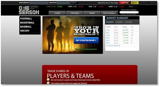 OneSeason, Sports trading