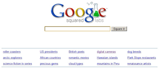 Compare Google search results with Google Squared