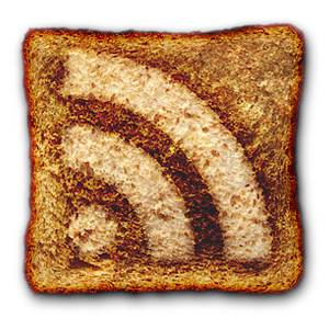 The strangest RSS Feed icon