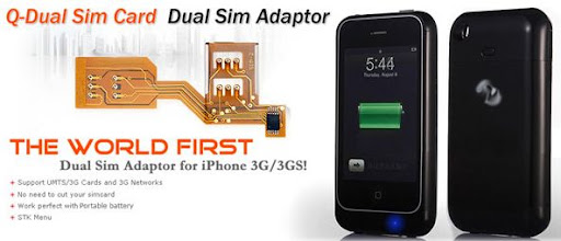 World's first External Battery case & Dual-Sim adaptor for iPhone 3G/3G S