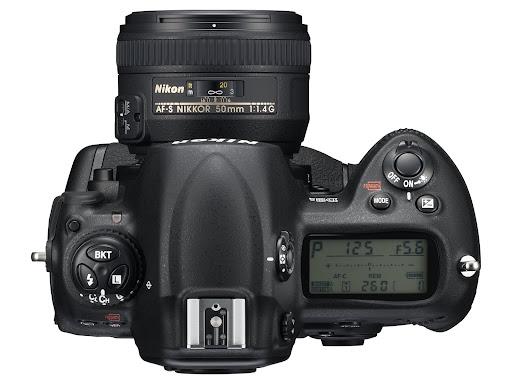 Nikon D3s - Top