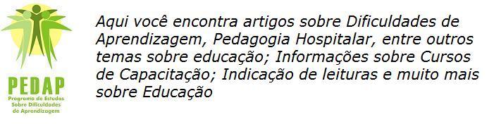PEDAP -  EDUCAÇÃO