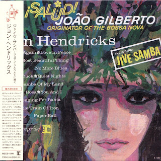 JON HENDRICKS - SALUD! JOAO GILBERTO (REPRISE 1963) Jap mastering cardboard sleeve