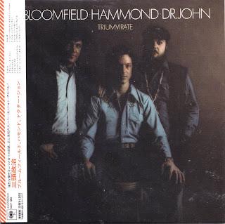 BLOOMFIELD/HAMMOND/DR. JOHN - TRIUMVIRATE (COLUMBIA 1973) Jap mastering cardboard sleeve + 2 bonus