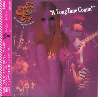THE ELECTRIC FLAG - A LONG TIME COMIN' (COLUMBIA 1968) Jap mastering cardboard sleeve + 4 bonus