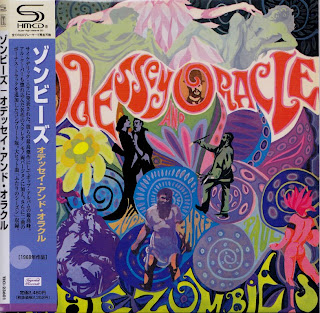 Cover Album of ZOMBIES - ODESSEY & ORACLE (CBS 1968) Jap mastering cardboard sleeve mono & stereo + 2 bonus
