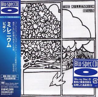 THE MILLENNIUM - BEGIN (COLUMBIA 1968) Jap mastering Blu-Spec CD + 9 bonus