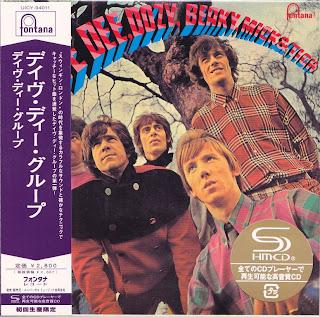 DAVE DEE,DOZY,BEAKY,MICK & TICH - S/T (FONTANA 1966) Jap mastering cardboard sleeve + 13 bonus