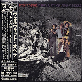 VELVET OPERA - RIDE A HUSTLER'S DREAM (CBS 1969) Jap mastering cardboard sleeve + 4 bonus