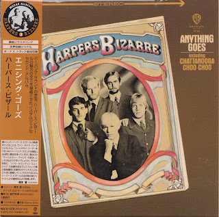 HARPERS BIZZARE - ANYTHING GOES (WARNER BROS 1967) Jap mastering cardboard sleeve + 2 bonus
