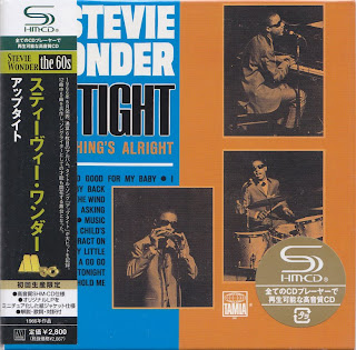 STEVIE WONDER - UP TIGHT (TAMLA 1966) Jap mastering cardboard sleeve