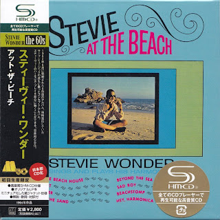 STEVIE WONDER - STEVIE AT THE BEACH (TAMLA 1964) Jap mastering cardboard sleeve