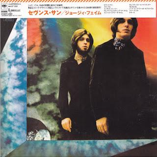 GEORGIE FAME - SEVENTH SON (CBS 1969) Jap mastering cardboard sleeve