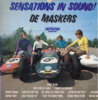 DE MASKERS - SENSATIONS IN SOUND (ARTONE 1966) Vinyl Rip