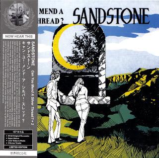 SANDSTONE - CAN YOU MEND A SILVER THREAD? (EASTERN PENNSYLVANIA 1971) Jap/Korean mastering cardboard sleeve + 2 bonus
