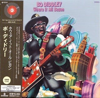 BO DIDDLEY - WHERE IT ALL BEGAN (CHESS 1972) Jap mastering cardboard sleeve