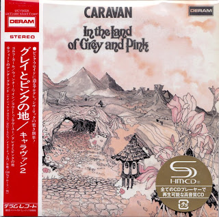 CARAVAN - IN THE LAND OF GREY & PINK (DERAM 1971) Jap mastering cardboard sleeve + 5 bonus