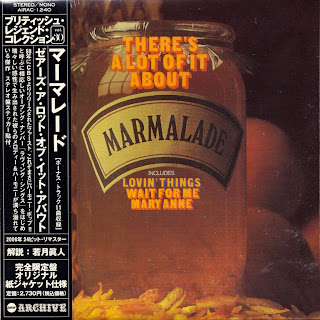 MARMALADE - THERE'S A LOT OF IT ABOUT (CBS 1968) Jap mastering cardboard sleeve + 11 bonus