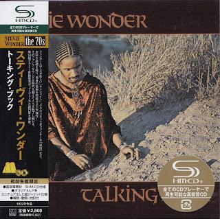 STEVIE WONDER - TALKING BOOK (TAMLA 1972) Jap mastering cardboard sleeve