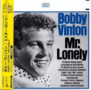 BOBBY VINTON - MR. LONELY (EPIC 1964) Jap DSD mastering cardboard sleeve