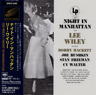 Cover Album of LEE WILEY - NIGHT IN MANHATTAN (COLUMBIA 1951) Jap mastering